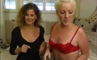 Tempting Kimberly Jade banged while eating pussy in threeway
