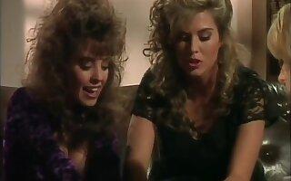 Gaffer Lesbian Latex Threesome (hd)